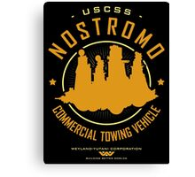 Nostromo Starfreighter Canvas Print