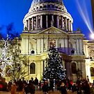 Christmas Evening in London by Alexey Dubrovin