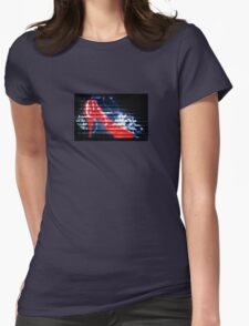 Red Shoe Womens Fitted T-Shirt