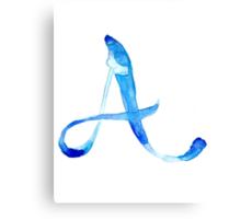 Alphabet A Canvas Print