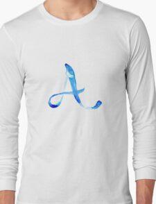 Alphabet A Long Sleeve T-Shirt