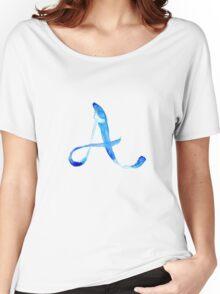 Alphabet A Women's Relaxed Fit T-Shirt