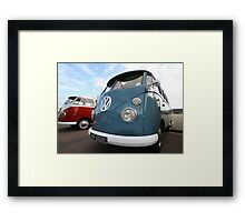 Fine VW Split Screen Framed Print