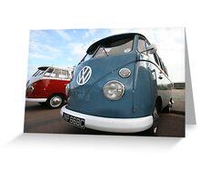 Fine VW Split Screen Greeting Card