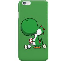 Egg Chuckin' Dinosaur iPhone Case/Skin