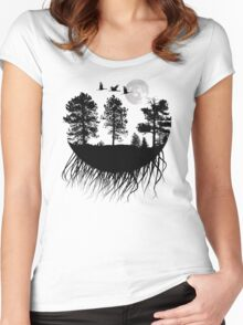 bubble of nature Women's Fitted Scoop T-Shirt