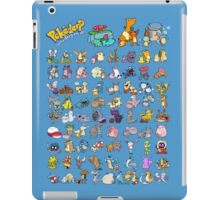 Gotta' Derp 'em all! - Blue edition iPad Case/Skin