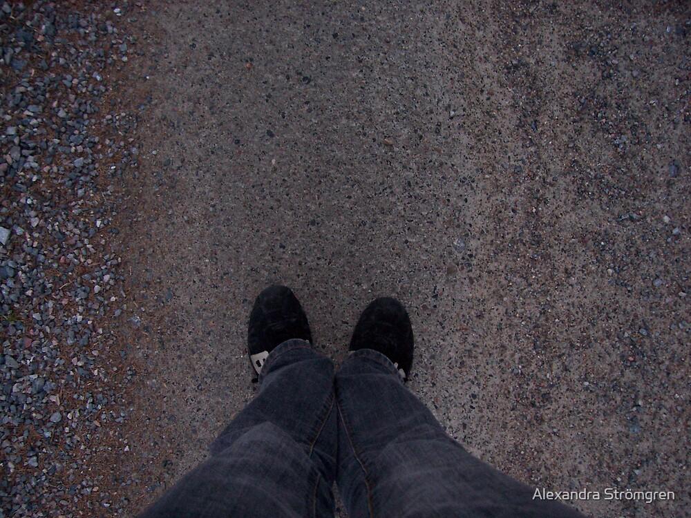 on a walk by Alexandra Strömgren
