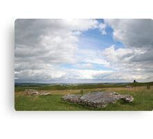 Sketching the Henge Canvas Print
