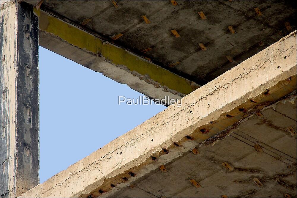 Between the floors, the sky by PaulBradley