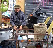 Street Vendor, Rome by beckha
