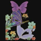 Butterfly Fantasy II TSHIRT by Dominic Melfi