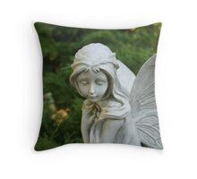 Ceramic fairy Throw Pillow