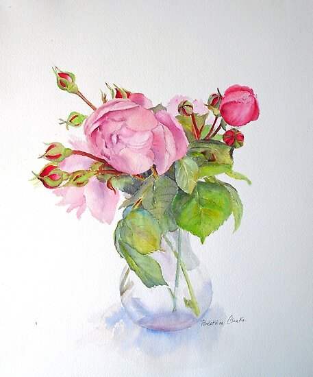 Old roses by Beatrice Cloake