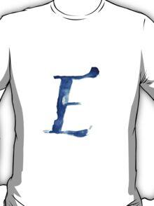Alphabet E T-Shirt