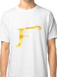 Alphabet F Classic T-Shirt