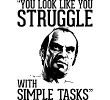 GTA V Trevor Simple Tasks Photographic Print