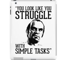 GTA V Trevor Simple Tasks iPad Case/Skin