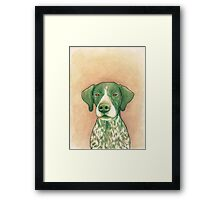 Jola #02 - German Short-Haired Pointer Framed Print