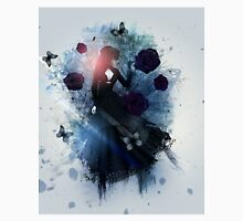 Abstract gothic woman background Unisex T-Shirt