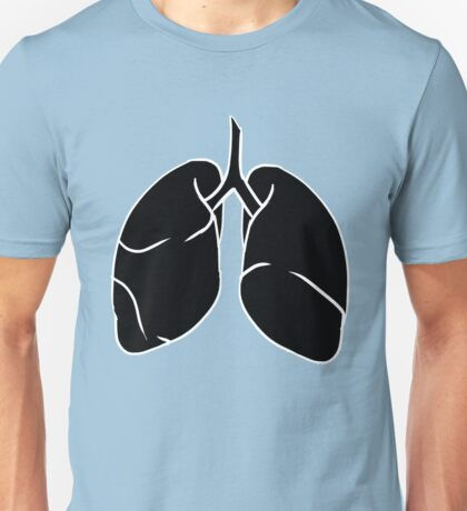 Inverted Lungs Unisex T-Shirt