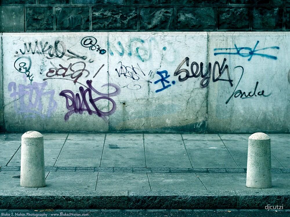 graffiti  by djcutzi