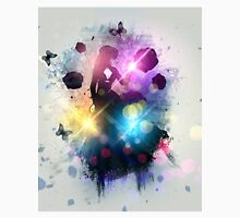 Abstract gothic woman background 2 Unisex T-Shirt
