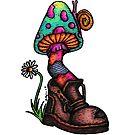 Mooshroom & Boot by Octavio Velazquez