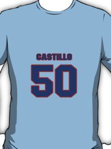 National baseball player Alberto Castillo jersey 50 T-Shirt