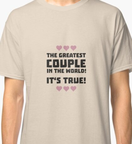 Worlds greatest couple R8r93 Classic T-Shirt