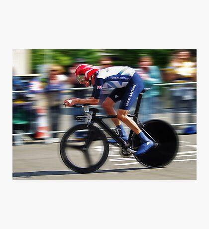 Bradley Wiggins - Sur Le Rivet Photographic Print