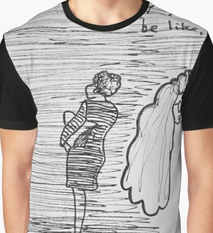 Reportage Sketch: #REPURPOSED Fashion Show at LACA Projects  Graphic T-Shirt