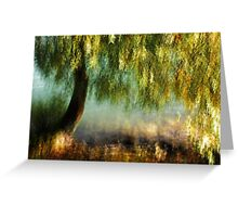 Artscape WillowTree on the Rhine..........Autumn 2013 Greeting Card