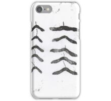 Sycamore Seeds iPhone Case/Skin