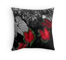 Caladiums 003 Throw Pillow