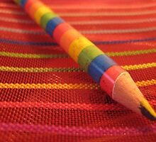 Rainbow Stationery by justineb