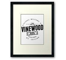 GTA V Vinewood Hills Framed Print