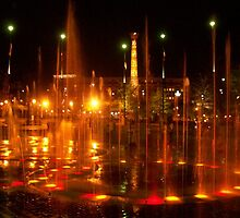 Olympic Centennial Park, Atlanta Ga by MorningStar