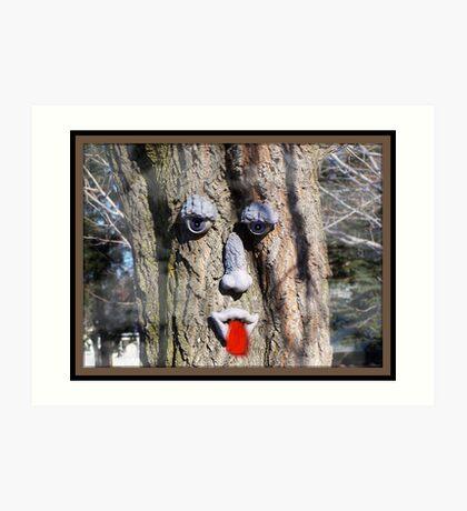 Trees Dream Art Print