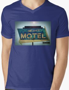 Mom's Motel T-shirt Mens V-Neck T-Shirt