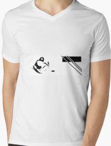Two Sides Mens V-Neck T-Shirt