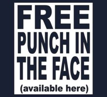free punch in the face  by RetroX