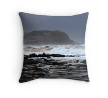 Gloom over Strezlecki Lookout - Newcastle Throw Pillow