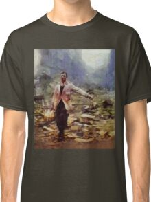 History in Color. Spirit of the Blitz. WWII Classic T-Shirt