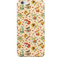 Hear Little Owls Pattern. iPhone Case/Skin