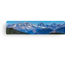 The Monashee Mountains Canvas Print
