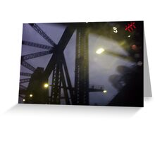 Surreal Bridge Greeting Card