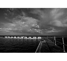 Merewether Storm Clouds 3 Photographic Print