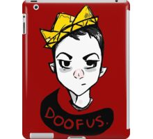 Boy King iPad Case/Skin