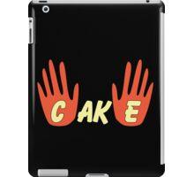 Cake (Human Style) iPad Case/Skin